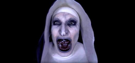 The Nun Screaming