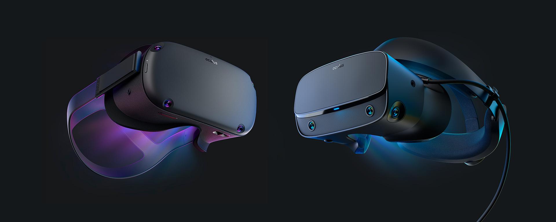 Oculus Quest vs Oculus Rift S