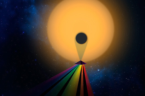 Transmission spectrum of exoplanet MIT