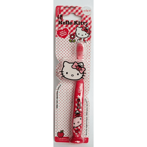 Cepillo dientes ergonómico Hello Kitty