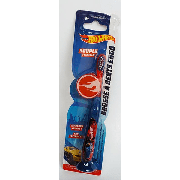 Cepillo dientes ergonómicos Hotwheels
