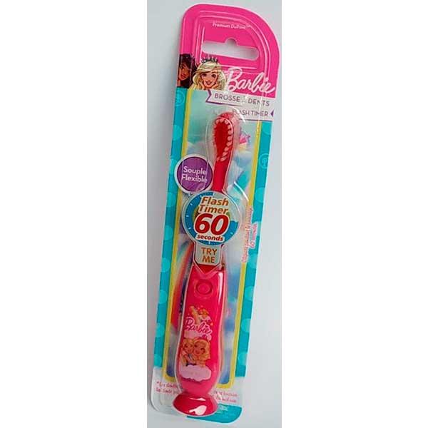 Cepillo dientes luminoso Barbie dientes limpios y niños felices
