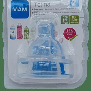Tetina silicona 2+ Mam