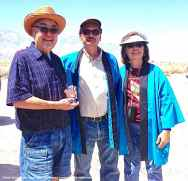 Warren Furutani (left), Bruce Embrey (center), Kerry Cababa (right). Photo: Vicky Perez-Geaga.