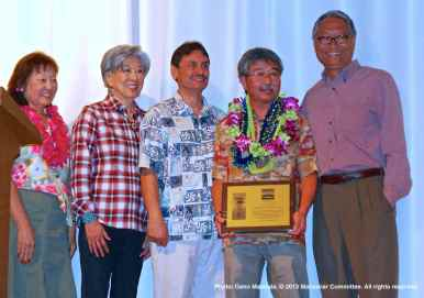 From left: Rose Ochi, Bruce Embrey, Les Inafuku, and Bruce Saito