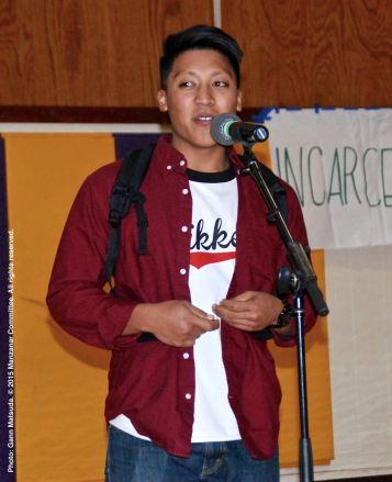 Open mic portion of the 2015 Manzanar At Dusk program.