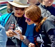 """Manzanar Committee""""s Kerry Cababa (left) and Monica Embrey (right)"""