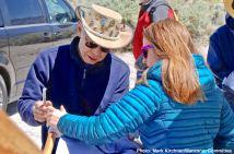 Dale Kunitomi (left) and Monica Embrey (right)