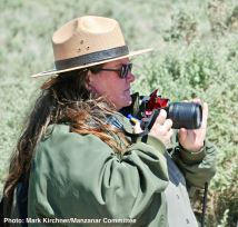 Manzanar National Historic Site Chief of Interpretation Alisa Lynch