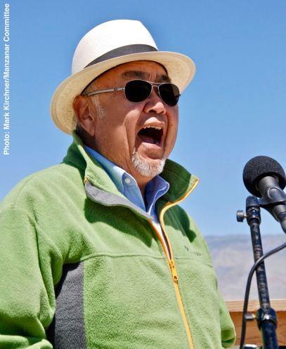 Manzanar Committee and Manzanar Pilgrimage co-founder Warren Furutani