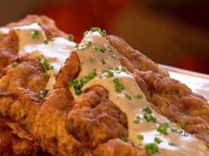 Chicken Fried Steak with Gravy.