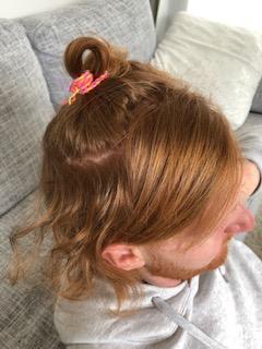 天パ前髪のヘアアイロンかけ方