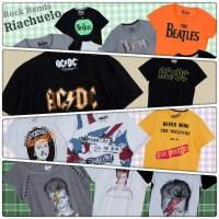 É dia de Rock! Riachuelo lança coleção 'Rock Bands' com estampas de Beatles a David Bowie