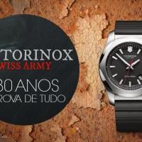 À prova de TUDO: Relógio I.N.O.X. marca os 130 anos de soberania da Victorinox Swiss Army