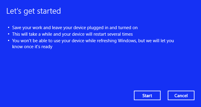 fresh start windows 10 reinstall pc speed your laptop 电脑慢 提升电脑运行数度