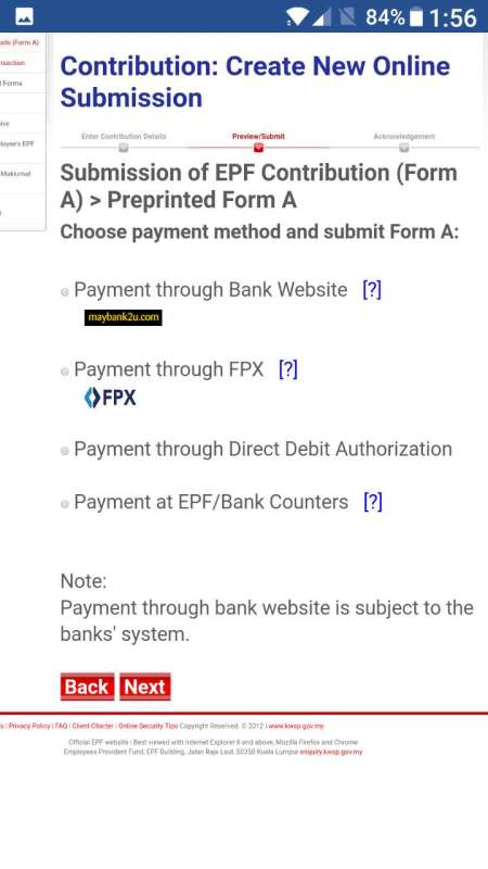 How To Pay EPF KWSP Online maybank