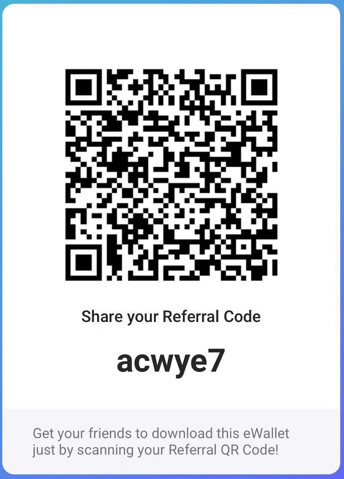 Touch N Go E Wallet referral code