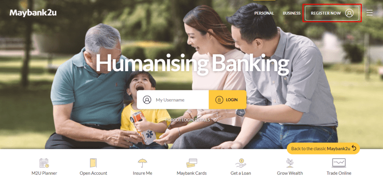 How to Complete Your First-Time Registration on Maybank2U
