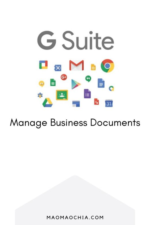 Create and Manage Business Documents using G Suite