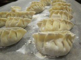 pork & shrimp dumplings