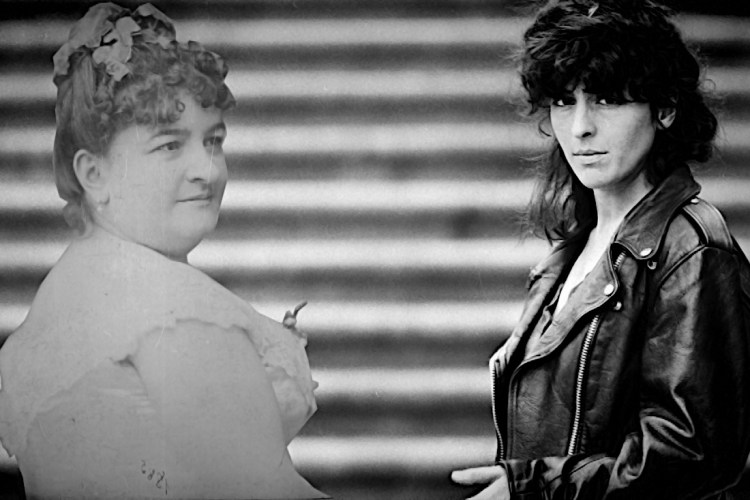 Xela Arias e Emilia Pardo Bazán