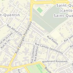 boulevard roosevelt 02100 saint quentin