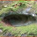 """""""Жертовні чаші"""" на каменях з урочища Бедзвінний, які знаходяться на вертикальних поверхнях і ме можуть бути використані """"за призначенням"""""""