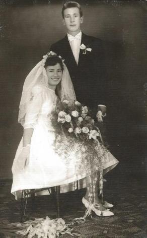 1961 rok, ślub Danuty Maracha i Zbyszko Szymanowskiego.