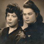 Zofia Truskawa z koleżanką (Moja mama Zofia Truskawa z domu Radyk…)