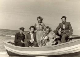 Nad Bałykiem - rok 1949