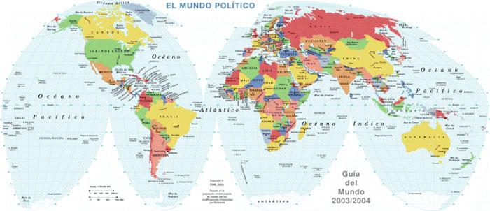 Resultado de imagen para mapamundi