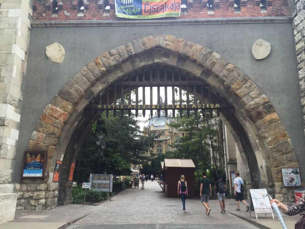 Entrance to the medieval museum complex