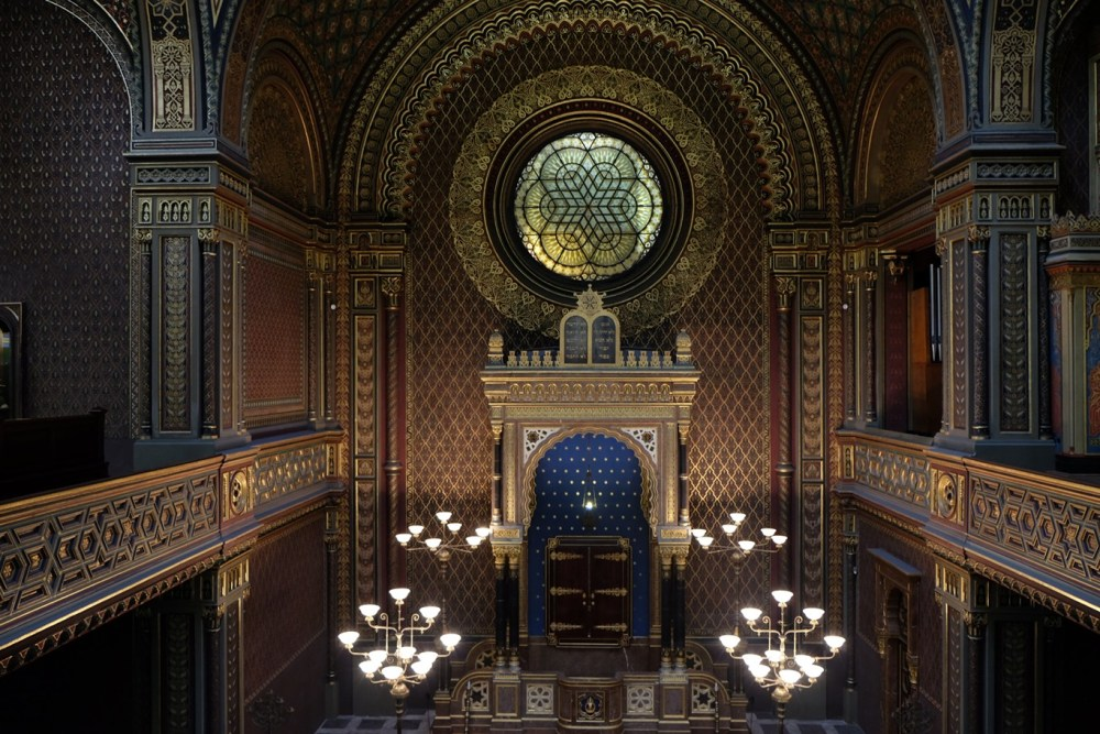 Offbeat Prague: Synagogue interiors in the Jewish quarter
