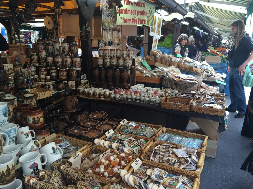 Offbeat Prague: Havelska souvenir market