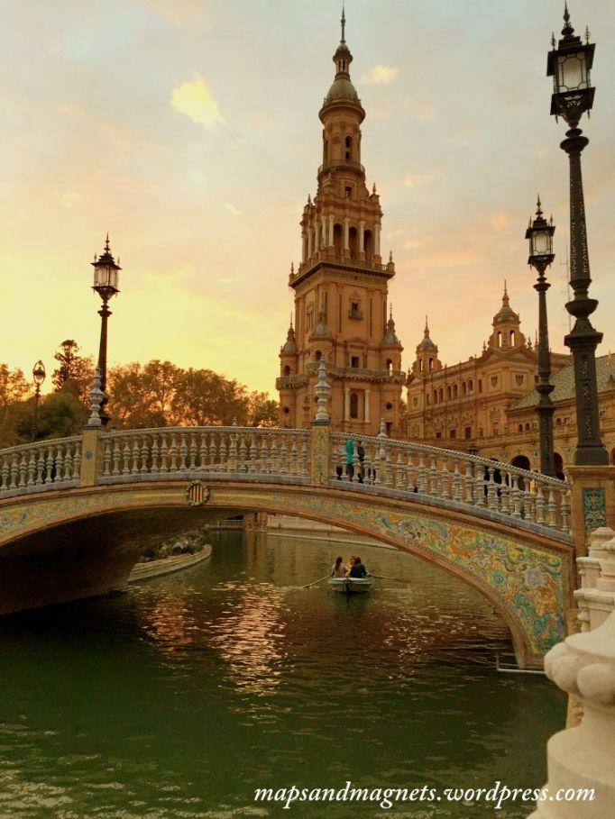 seville-plaza-espana-sunset