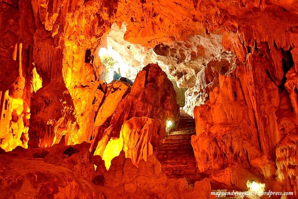 Caves in Ha Long Bay