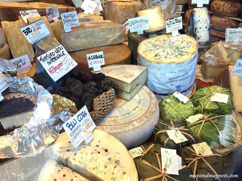 cheese truffle italy