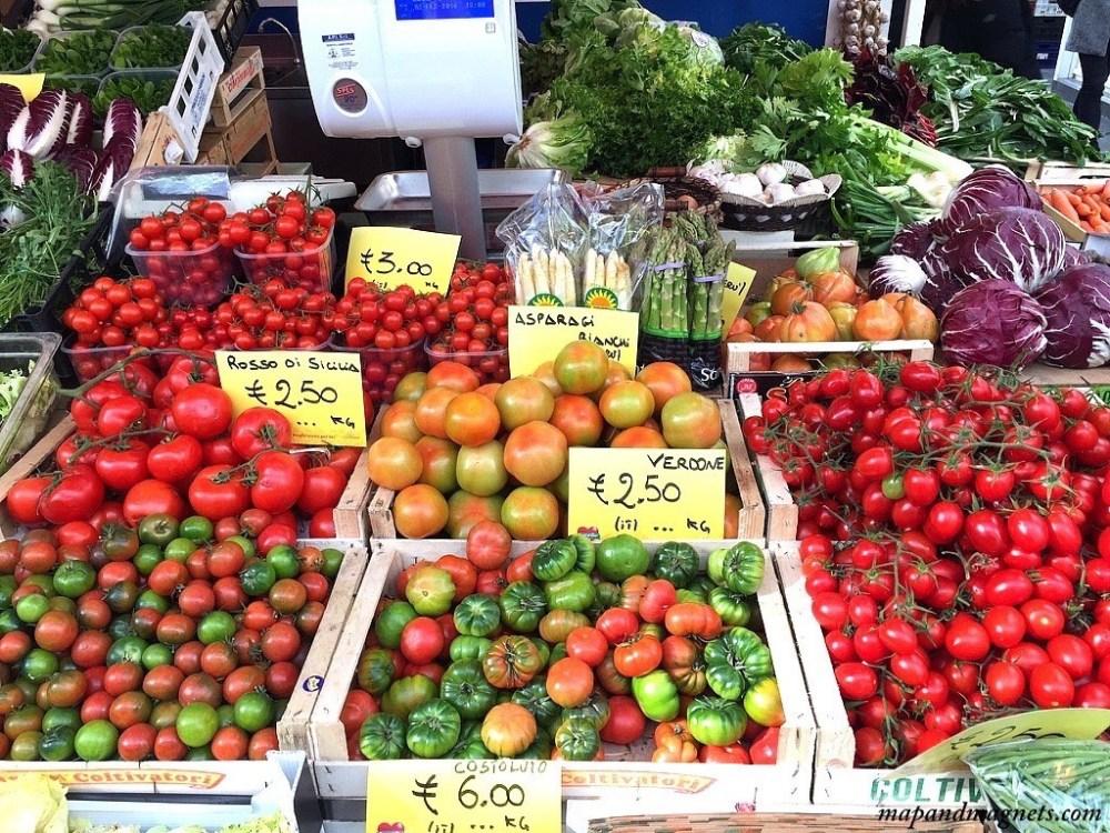 Italian tomatoes market