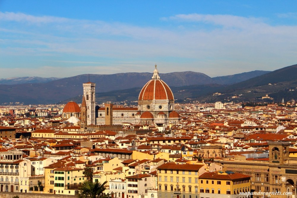 Duomo from Piazza Michelangelo