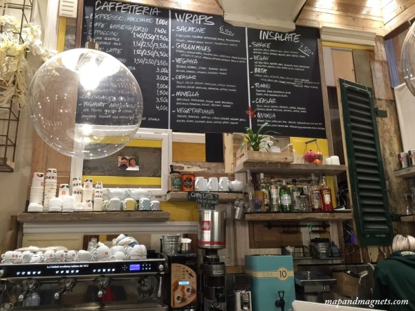 Shake cafe vegan options Florence