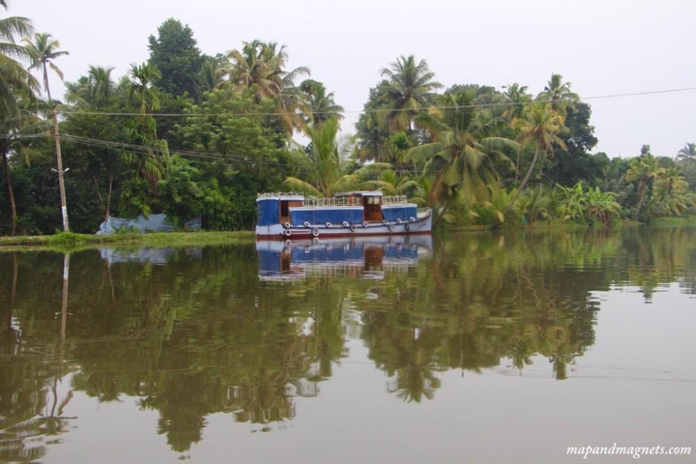 Kerala backwaters view