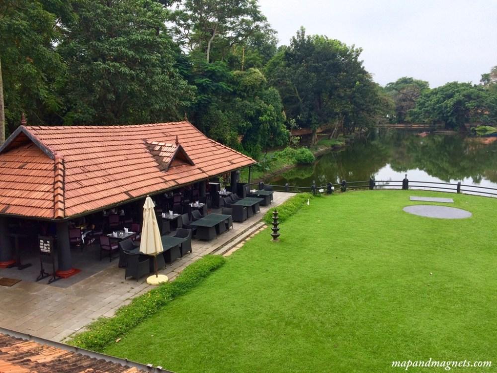 Taj Kumarakom hotel breakfast