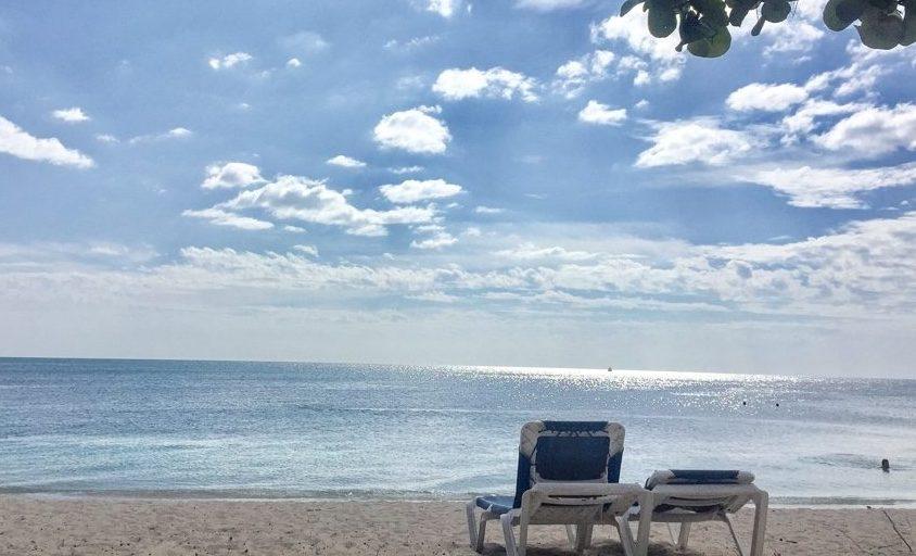 Beach in Trinidad Cuba