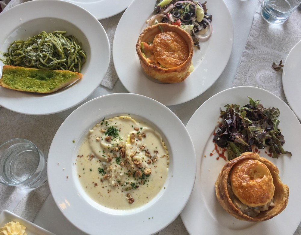 Lunch at Culinarium in Nilgiris