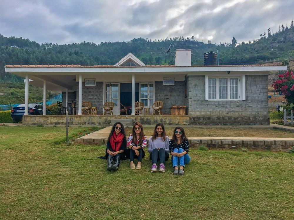 Girls weekend in the Nilgiris