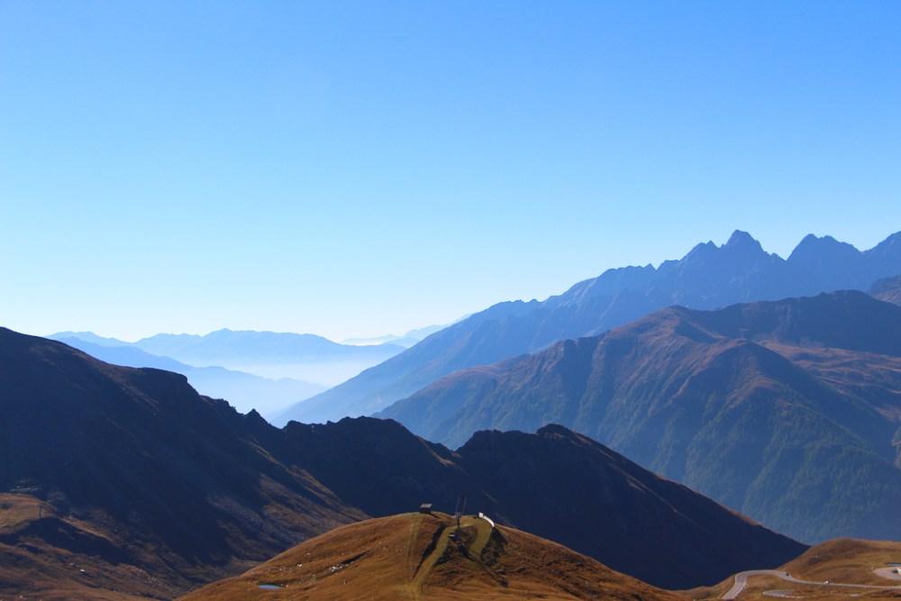 Grossglockner mountain silhouettes