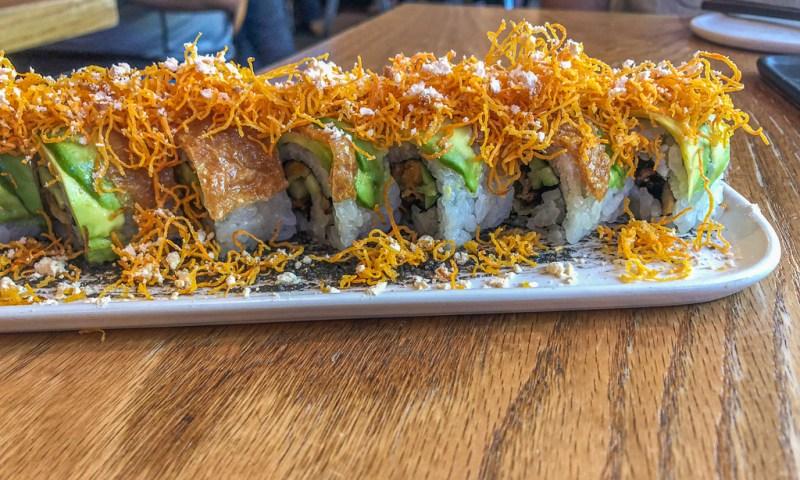 Vegetarian sushi in San Francisco