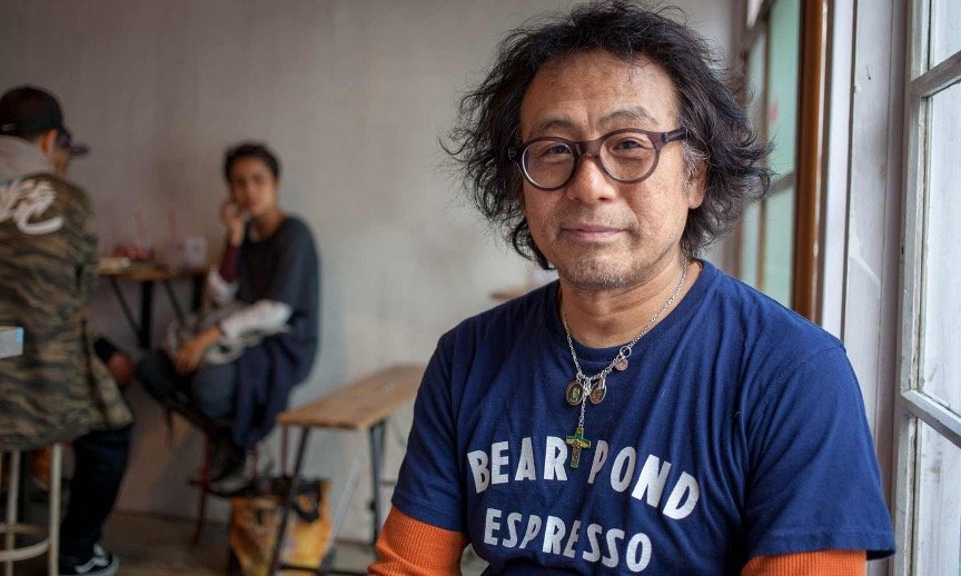 Owner of Bear Pond Espresso coffee shop in Tokyo