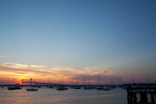 Newport RI Sunset