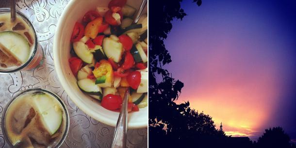 Provence Dinner, Sunday Sunset